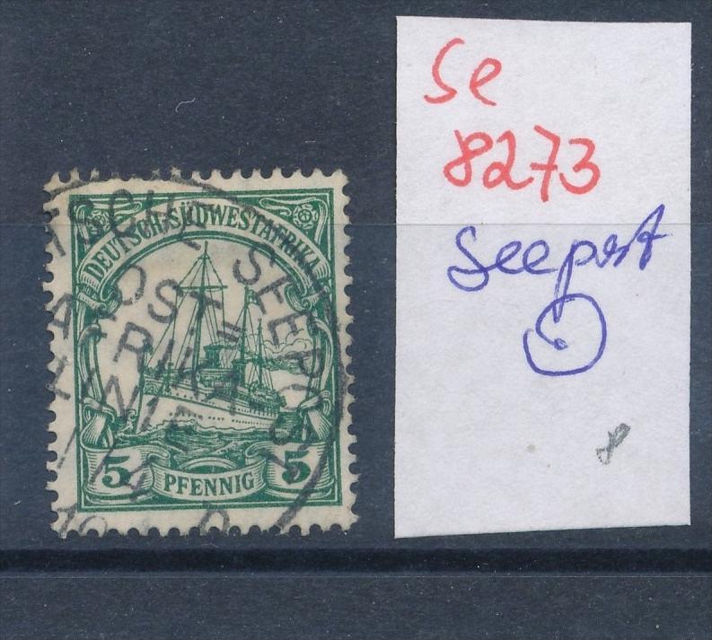 DSWA  Seepost -  netter Stempel... ... (se8273  ) siehe Bild  !!