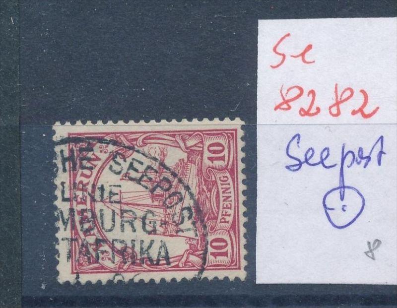 Kamerun  Seepost  -  netter Stempel... ... (se8282  ) siehe Bild  !!