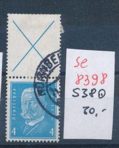 D.-Reich Nr.  s 38   o.. ... (se8398  ) siehe Bild  !!