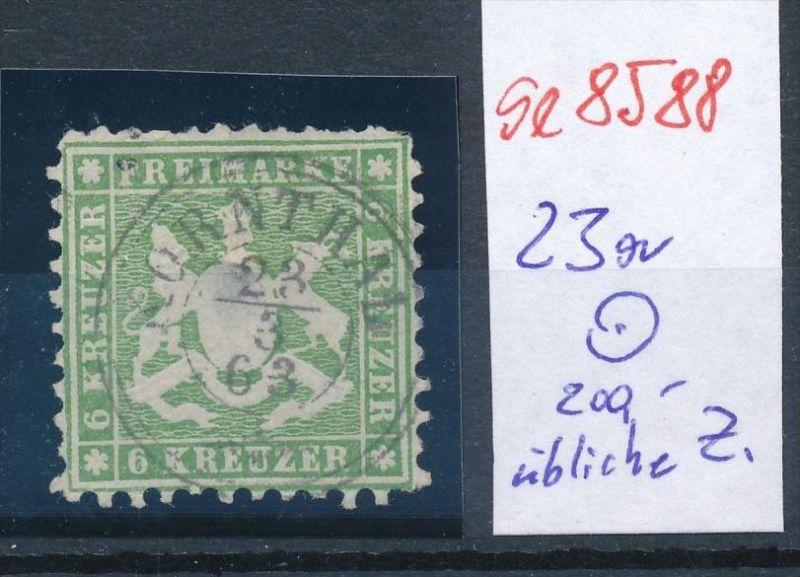 Würtemberg  Nr. 23a     o   (se8588 ) siehe Bild