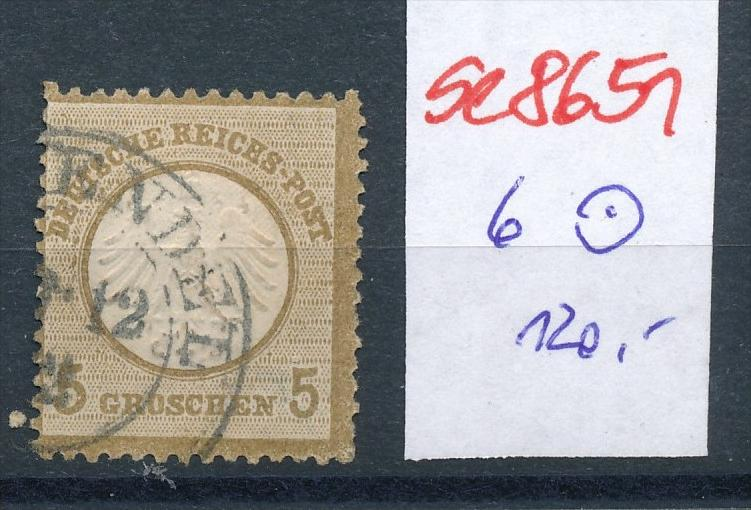 D.-Reich Nr. 6  o  (se8651   ) siehe Bild