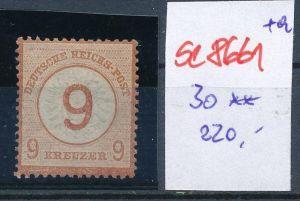 D-Reich   Nr. 30  * (se8661   ) siehe Bild