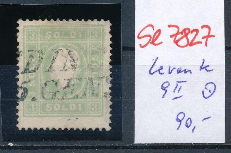 Österreich-Levante  Nr. 9 II   o  (se7827   ) siehe Bild