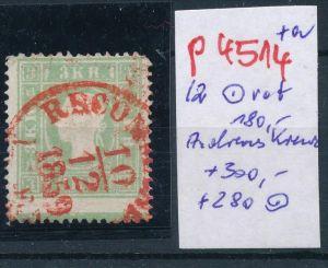 Österreich - Nr. 12 o-rot und unten Andreas Kreuz    (p4514  ) siehe Bild