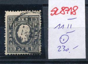 Österreich Nr. 11 II Knick......o (se8718  ) siehe Bild