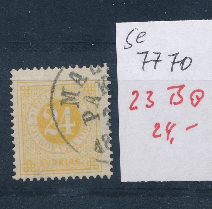 Schweden Porto  Nr. 23 B   o (se 7770 ) siehe scan