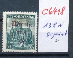 Sudeten Nr.  138   *   (c6418 ) -siehe Bild