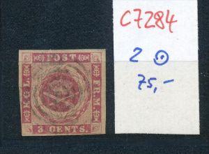 DK-Westindien Nr. 2   o   (c7284  ) siehe scan
