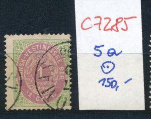 DK-Westindien Nr. 5  o   (c7285  ) siehe scan