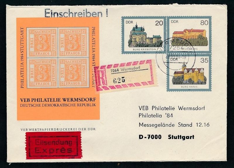 DDR Sonder Ganzsache    (oo1446  ) siehe scan