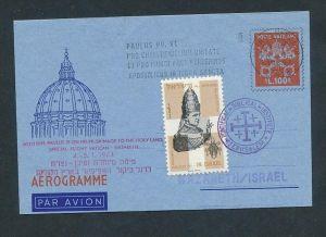 Vatican- Flugpost Beleg.... (oo1435  ) siehe scan