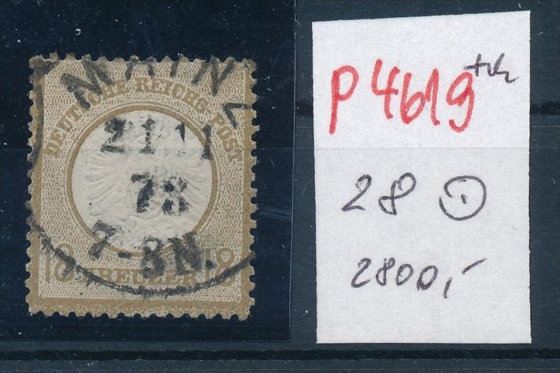 D.-Reich Nr. 28   o -schönes Stück    (p4619  ) siehe scan