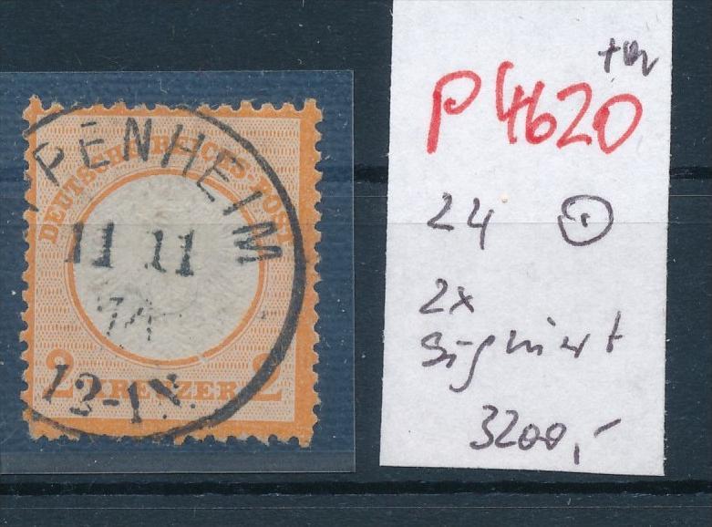 D.-Reich Nr. 24   o -schönes Stück    (p4620  ) siehe scan