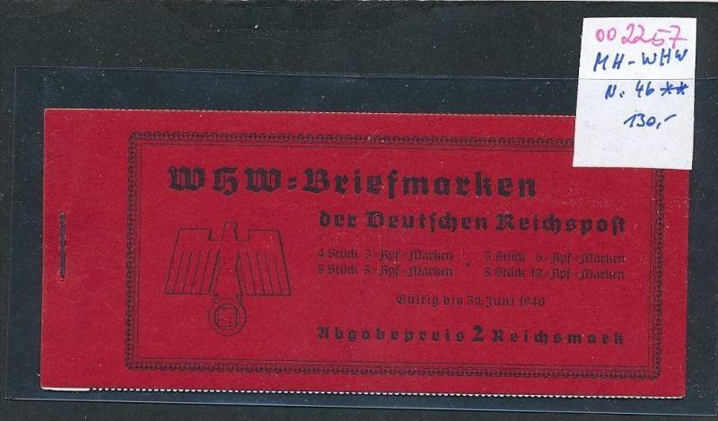 D.-Reich  Heft  46    ** (oo2257  ) siehe scan