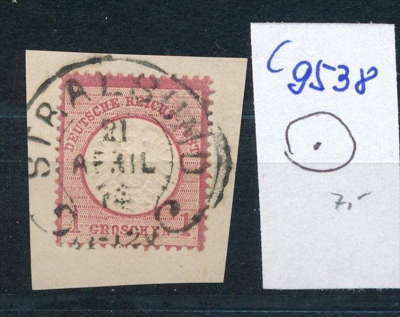 D.-Reich  netter Stempel ...  (c9538 )  siehe scan vergrößert