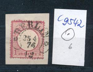 D.-Reich  netter Stempel ...  (c9542 )  siehe scan vergrößert