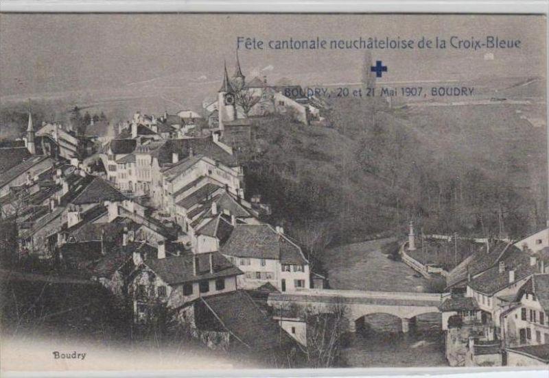 CH-blaues Kreuz schöne alte   Karte  (ka2777 )  .....-siehe scan vergrößert