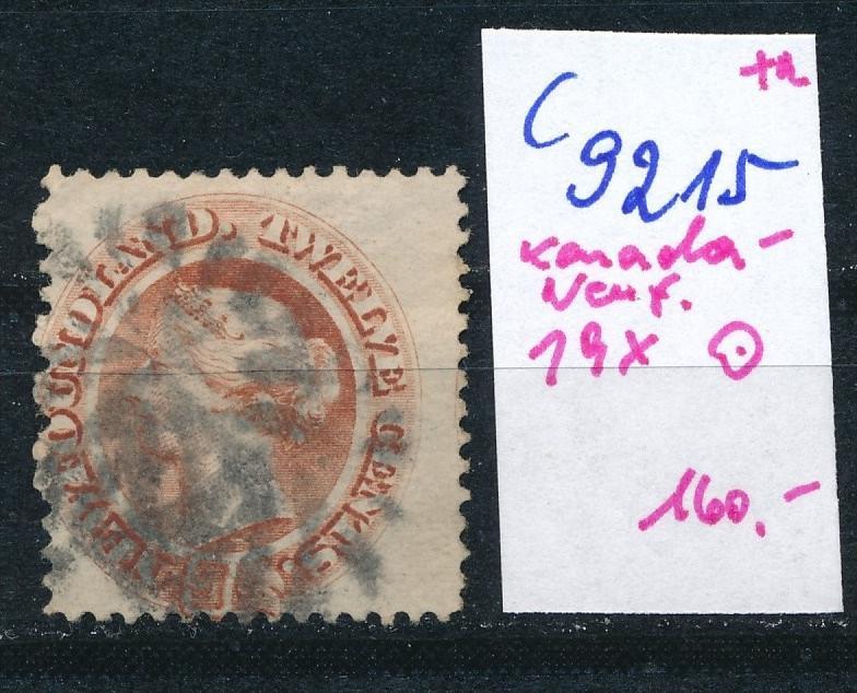 Kanada-Neuf. Nr. 19 x  o (c9215  ) siehe scan  vergrößert