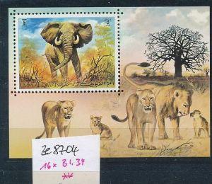 Elefanten Block um al Quian   (ze8704 ) siehe scan