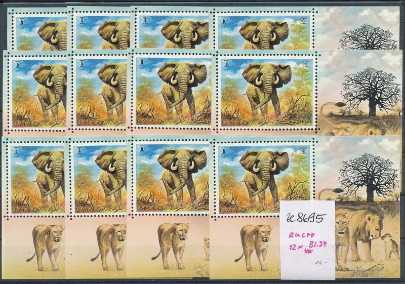 Elefanten Block um al Quian-enro **   (ze8695 ) siehe scan
