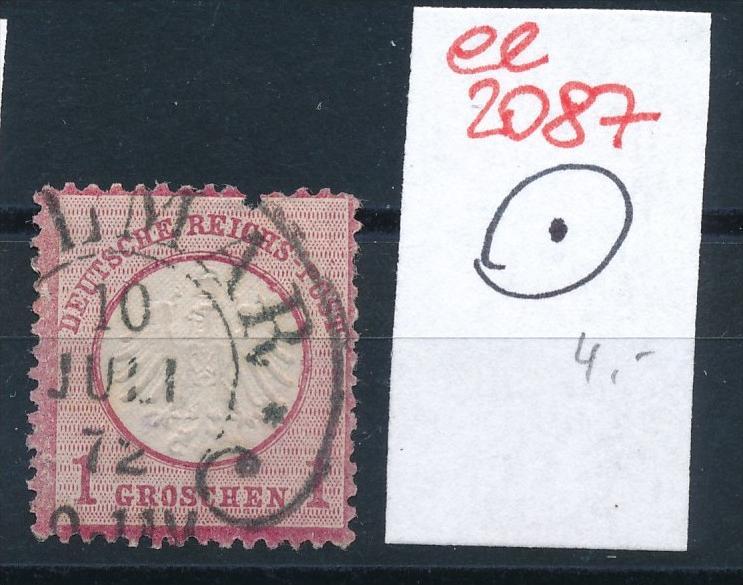 D.-Reich Brustschild - STEMPEL     (ee2087 ) siehe scan