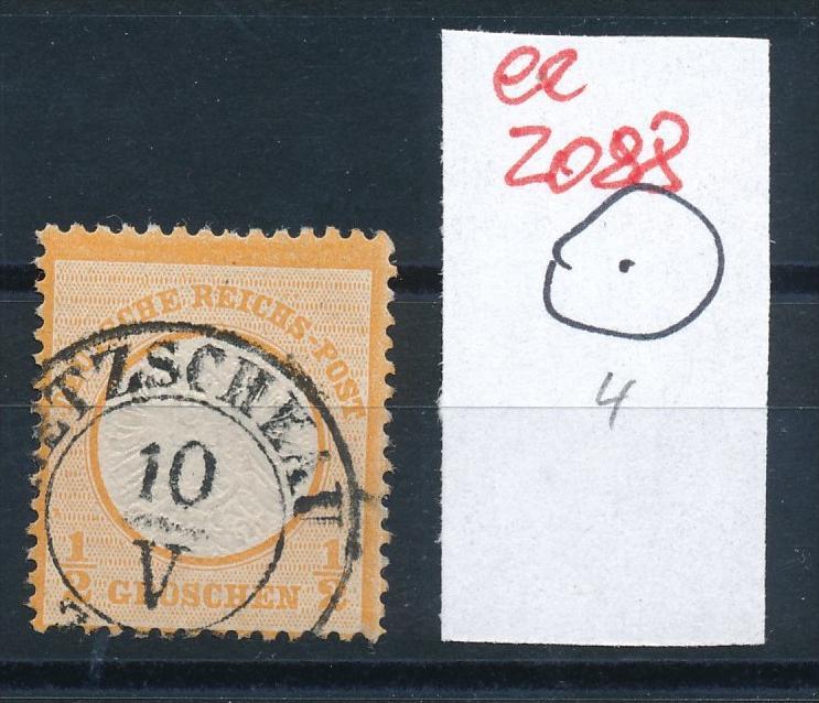 D.-Reich Brustschild - STEMPEL     (ee2088 ) siehe scan