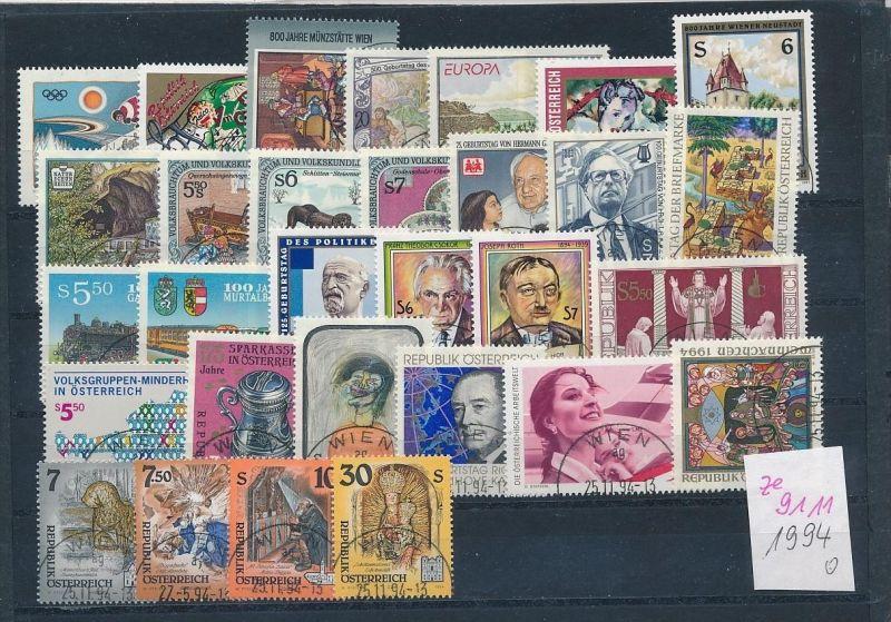Österreich Jahr 1994   Lot .( ze9111 ) siehe scan !