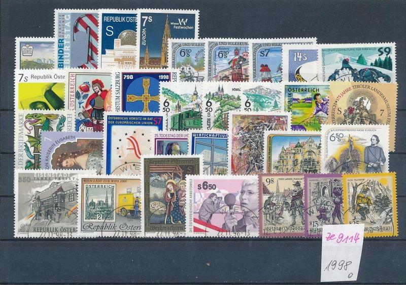 Österreich Jahr 1998   Lot .( ze9114 ) siehe scan !