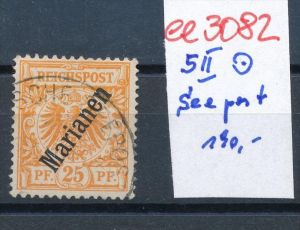 Marianen  5 II  Stempel..( ee 3082  ) siehe scan !