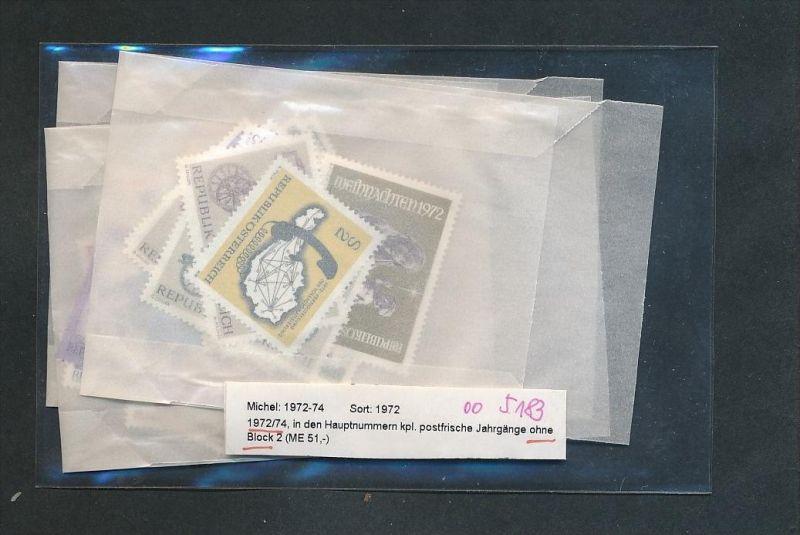 Österreich Jahr  1972-74 **  (oo5183  ) siehe scan !