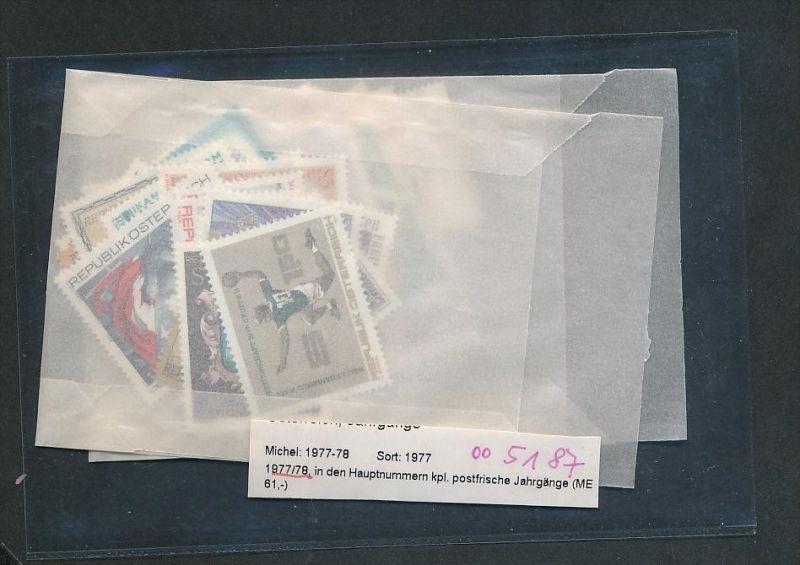 Österreich Jahr  1977-78  **  (oo5187  ) siehe scan !