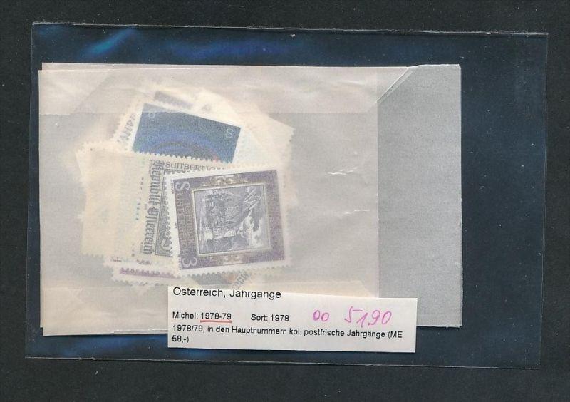 Österreich Jahr  1978-79  **  (oo5190  ) siehe scan !