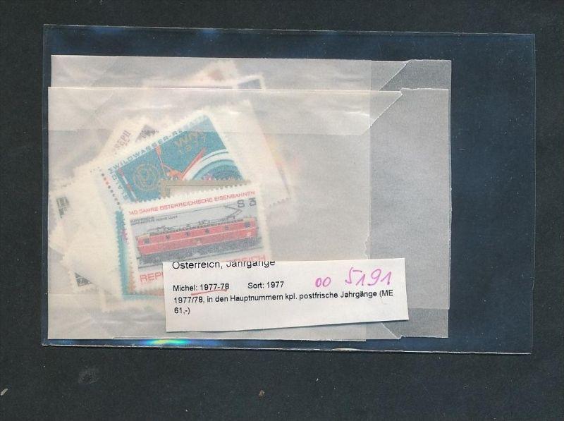 Österreich Jahr  1977-78 **  (oo5191  ) siehe scan !