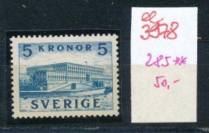 Schweden  Nr. 285     **    (ee3978  ) aus Auflösung einer Spezial Sammlung