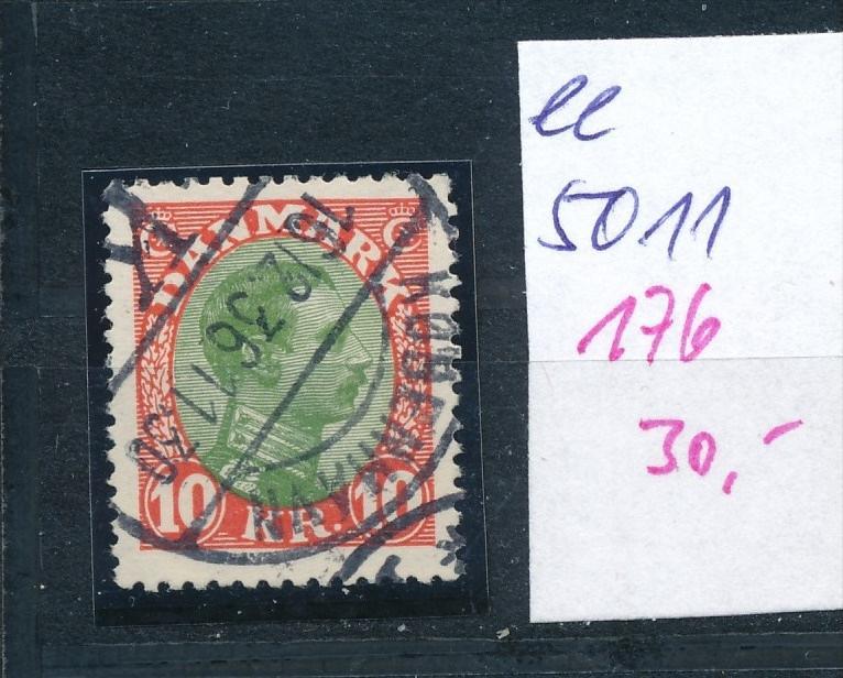 DK  Nr. 176    o  ( ee5011  ) aus einer Spezial Sammlung !