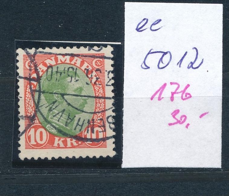 DK  Nr. 176    o  ( ee5012  ) aus einer Spezial Sammlung !
