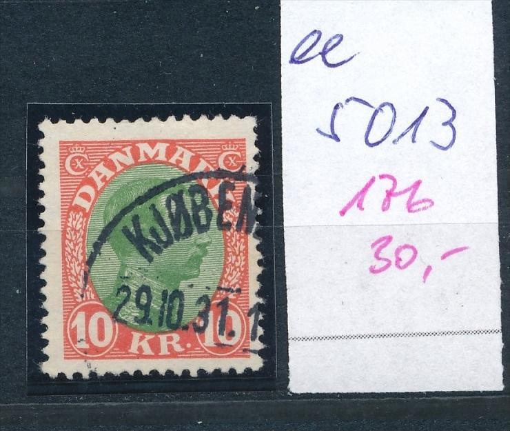DK  Nr. 176    o  ( ee5013  ) aus einer Spezial Sammlung !