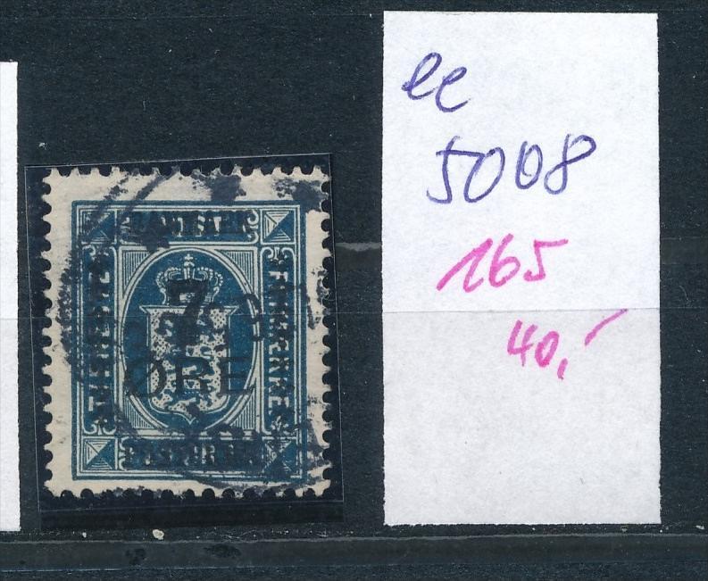 DK  Nr. 165     o  ( ee5008  ) aus einer Spezial Sammlung !
