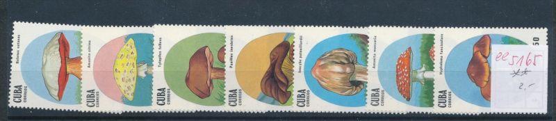 Pilze - Kuba   ........... **    (ee5165  )siehe scan....!