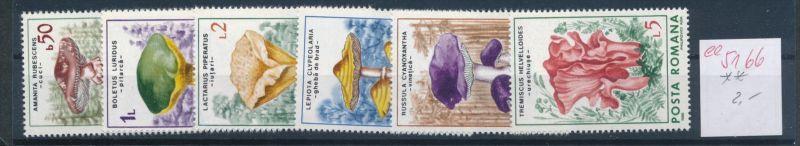 Pilze - Rumänien   ........... **    (ee5166  )siehe scan....!