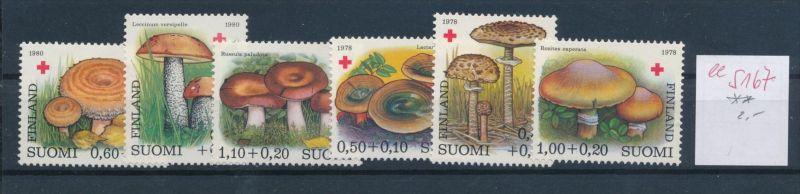Pilze - Finnland   ........... **    (ee5167  )siehe scan....!