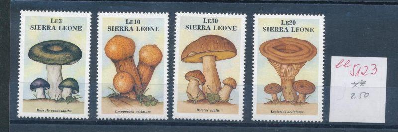 Pilze - Sierra Leone ........... **    (ee5123  )siehe scan....!