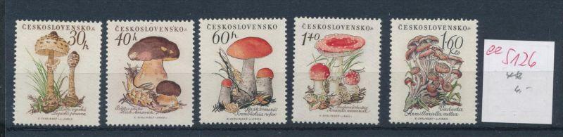 Pilze - Tschechen ........ **    (ee5126  )siehe scan....!