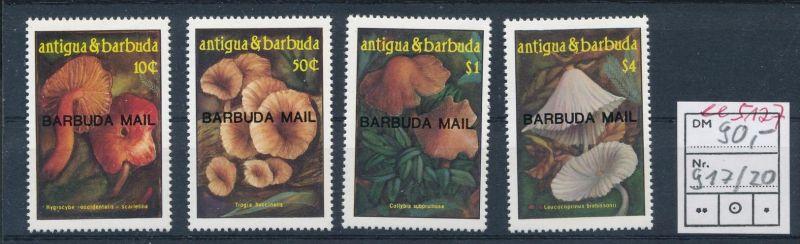 Pilze - Barbuda ........ **    (ee5127  )siehe scan....!