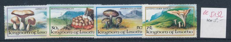 Pilze - Lesotho ....... **    (ee5132  )siehe scan....!