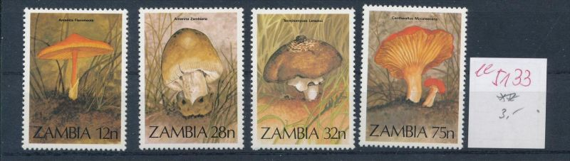 Pilze - Zambia ....... **    (ee5133  )siehe scan....!