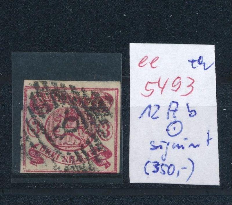Braunschweig Nr.  12 Ab    (  ee5493  ) siehe scan....!