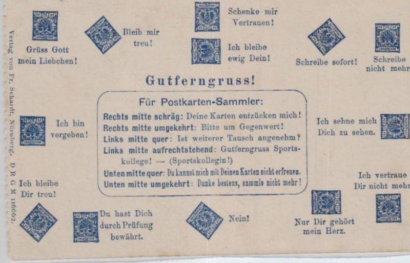 Motiv-Briefmarken-Sprache   div. - schöne alte Karte ....   (ka5721  ) siehe scan