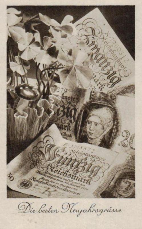 Münzen / Geld... -scheine - schöne alte Karte ....   (ka5343  ) siehe scan