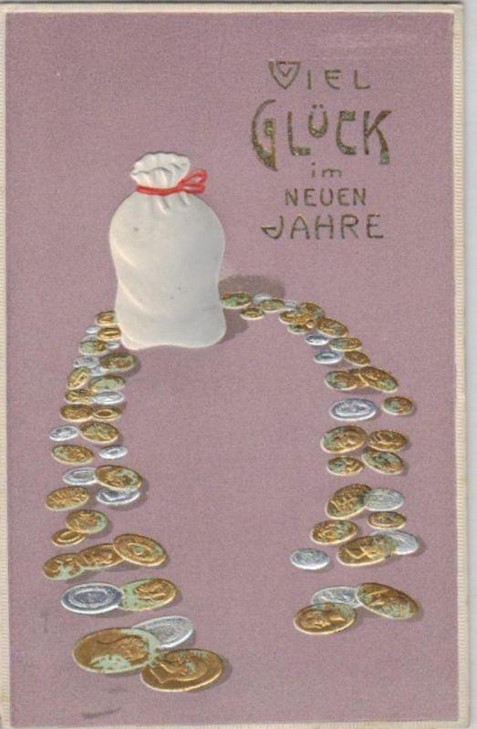Münzen / Geld... -scheine - schöne alte Karte ....   (ka5397  ) siehe scan